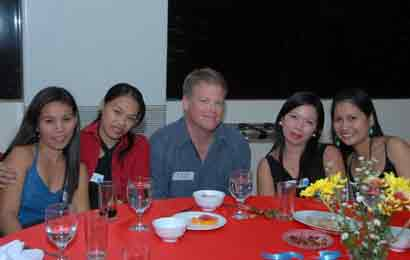 Happy client getting to know our Filipina singles